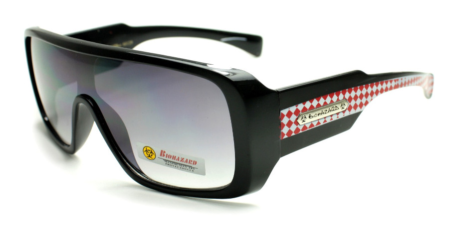 Moderne BioHazard BZ-106 naočare za sunce sa plastičnom okvirom i UV400 zaštitom!